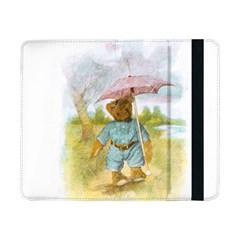 Vintage Drawing: Teddy Bear in the Rain Samsung Galaxy Tab Pro 8.4  Flip Case