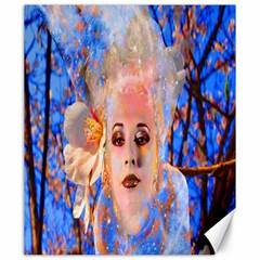 Magic Flower Canvas 20  X 24  (unframed)