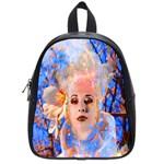 Magic Flower School Bag (Small) Front