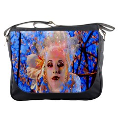 Magic Flower Messenger Bag