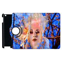 Magic Flower Apple iPad 2 Flip 360 Case