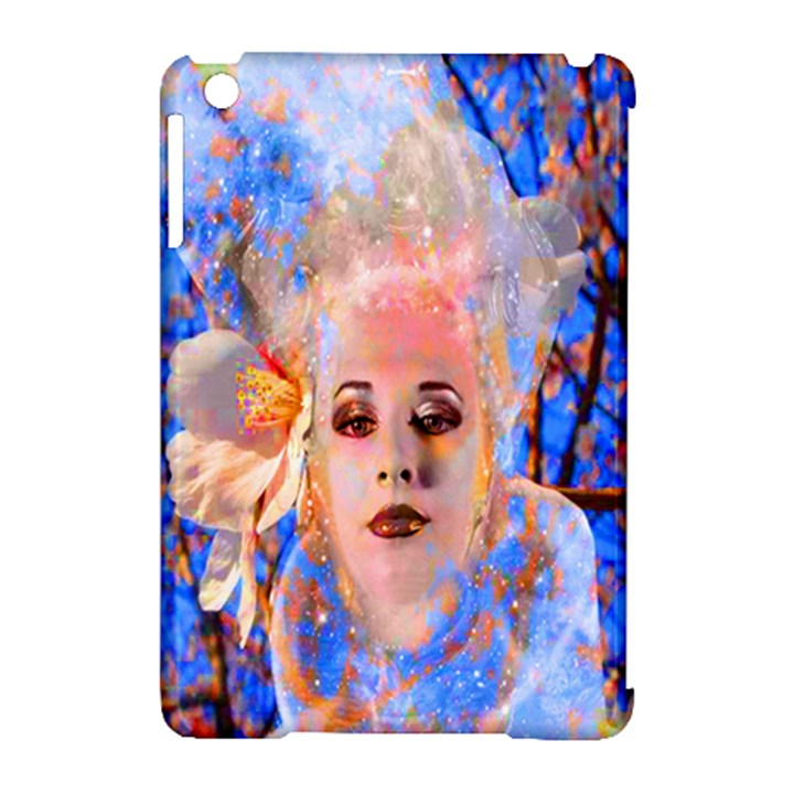 Magic Flower Apple iPad Mini Hardshell Case (Compatible with Smart Cover)
