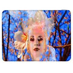 Magic Flower Samsung Galaxy Tab 7  P1000 Flip Case