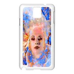 Magic Flower Samsung Galaxy Note 3 N9005 Case (White)