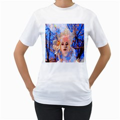 Magic Flower Women s T-Shirt (White)