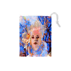 Magic Flower Drawstring Pouch (Small)