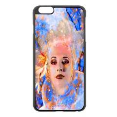 Magic Flower Apple Iphone 6 Plus Black Enamel Case