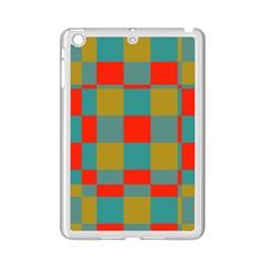 Squares In Retro Colors Apple Ipad Mini 2 Case (white)
