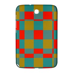 Squares In Retro Colors Samsung Galaxy Note 8 0 N5100 Hardshell Case