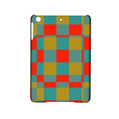 Squares In Retro Colors Apple Ipad Mini 2 Hardshell Case