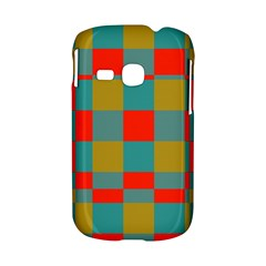 Squares in retro colors Samsung Galaxy S6310 Hardshell Case