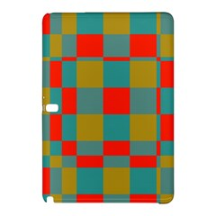 Squares In Retro Colors Samsung Galaxy Tab Pro 10 1 Hardshell Case