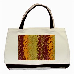 Scattered Pieces Basic Tote Bag