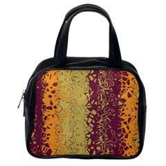 Scattered Pieces Classic Handbag (one Side)