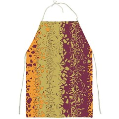 Scattered Pieces Full Print Apron