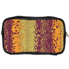 Scattered Pieces Toiletries Bag (one Side)
