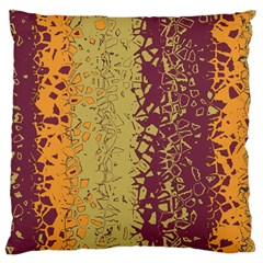 Scattered Pieces Large Cushion Case (two Sides)