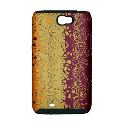 Scattered pieces Samsung Galaxy Note 2 Hardshell Case (PC+Silicone)