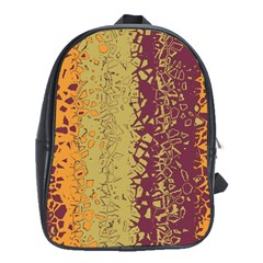 Scattered Pieces School Bag (xl)