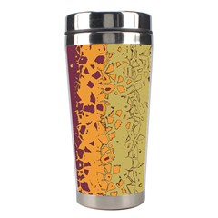 Scattered pieces Stainless Steel Travel Tumbler