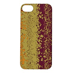 Scattered Pieces Apple Iphone 5s Hardshell Case