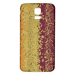 Scattered pieces Samsung Galaxy S5 Back Case (White)