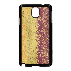 Scattered Pieces Samsung Galaxy Note 3 Neo Hardshell Case (black)