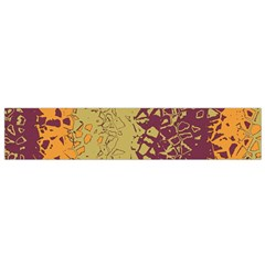 Scattered pieces Flano Scarf (Small)