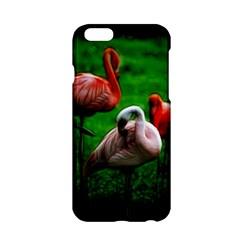 3pinkflamingos Apple Iphone 6 Hardshell Case