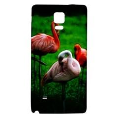 3pinkflamingos Samsung Note 4 Hardshell Back Case
