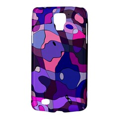 Blue Purple Chaos Samsung Galaxy S4 Active (i9295) Hardshell Case