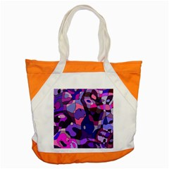 Blue Purple Chaos Accent Tote Bag