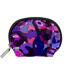 Blue purple chaos Accessory Pouch (Small)