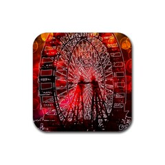 Vintage 1893 Chicago Worlds Fair Ferris Wheel Drink Coasters 4 Pack (square)