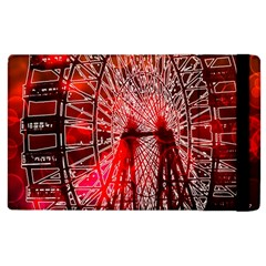 Vintage 1893 Chicago Worlds Fair Ferris Wheel Apple Ipad 2 Flip Case