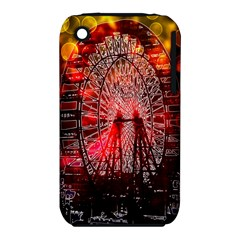 Vintage 1893 Chicago Worlds Fair Ferris Wheel Apple iPhone 3G/3GS Hardshell Case (PC+Silicone)