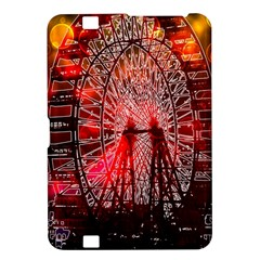 Vintage 1893 Chicago Worlds Fair Ferris Wheel Kindle Fire HD 8.9  Hardshell Case
