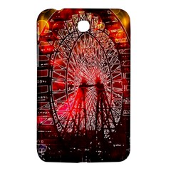 Vintage 1893 Chicago Worlds Fair Ferris Wheel Samsung Galaxy Tab 3 (7 ) P3200 Hardshell Case