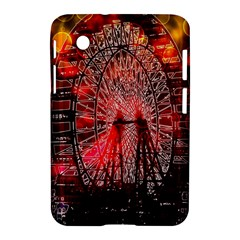 Vintage 1893 Chicago Worlds Fair Ferris Wheel Samsung Galaxy Tab 2 (7 ) P3100 Hardshell Case