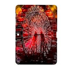 Vintage 1893 Chicago Worlds Fair Ferris Wheel Samsung Galaxy Tab 2 (10 1 ) P5100 Hardshell Case