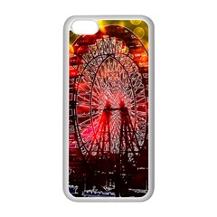 Vintage 1893 Chicago Worlds Fair Ferris Wheel Apple Iphone 5c Seamless Case (white)