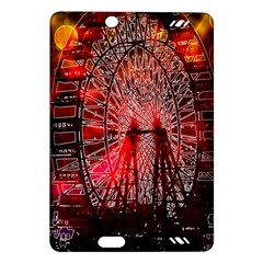 Vintage 1893 Chicago Worlds Fair Ferris Wheel Kindle Fire HD (2013) Hardshell Case