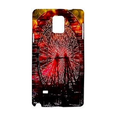 Vintage 1893 Chicago Worlds Fair Ferris Wheel Samsung Galaxy Note 4 Hardshell Case