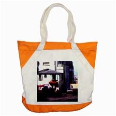 Vintage Paris Cafe Accent Tote Bag