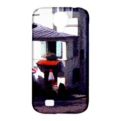 Vintage Paris Cafe Samsung Galaxy S4 Classic Hardshell Case (pc+silicone)