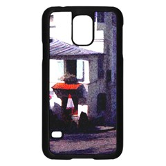 Vintage Paris Cafe Samsung Galaxy S5 Case (black)