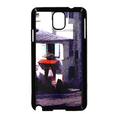 Vintage Paris Cafe Samsung Galaxy Note 3 Neo Hardshell Case (Black)