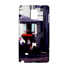 Vintage Paris Cafe Samsung Galaxy Note 4 Hardshell Case