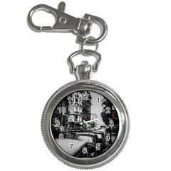 Vintage Paris Street Key Chain Watch