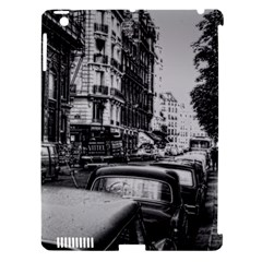 Vintage Paris Street Apple Ipad 3/4 Hardshell Case (compatible With Smart Cover)